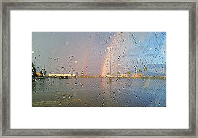 A Rainbow In My World #3 Framed Print by Kume Bryant