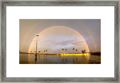 A Rainbow In My World Framed Print by Kume Bryant