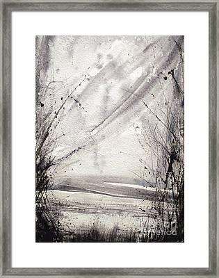 A Random Path Framed Print by Keran Sunaski Gilmore