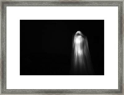 A Real Ghost Photo Framed Print by Michael Ledray