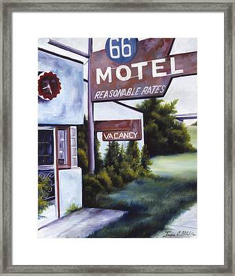 A Road Less Traveled Framed Print by James Christopher Hill