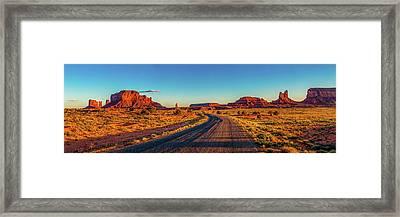A Road Less Travelled Framed Print by Az Jackson