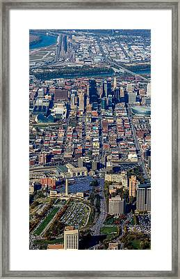 Kansas City World Series Rally Framed Print by Steve and Laura Johnson