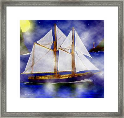 A Sailor's Dream Framed Print by Madeline  Allen - SmudgeArt