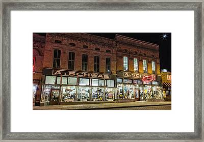 A Schwab - Memphis Framed Print by Stephen Stookey