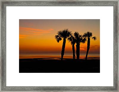 A Sense Of Place Framed Print by Rich Leighton