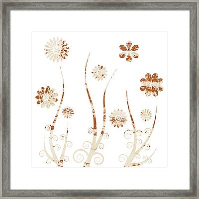 A Shabby Meadow Framed Print by Frank Tschakert