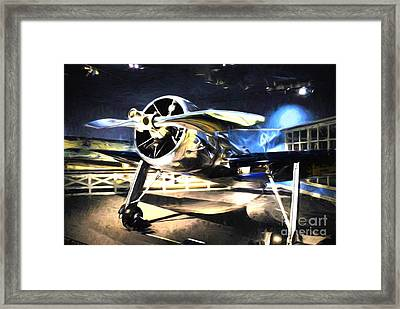 A Shining Example Framed Print by Mel Steinhauer