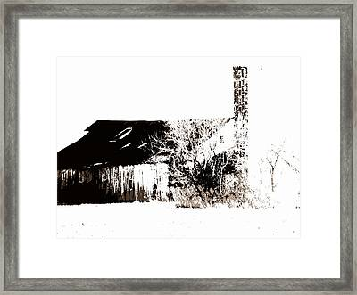 A Sketchy Past Framed Print by Ed Smith