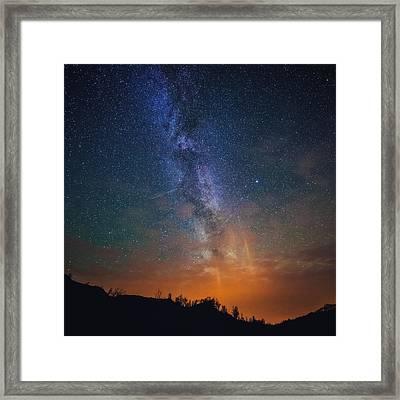 A Sky Full Of Stars Framed Print by Tor-Ivar Naess