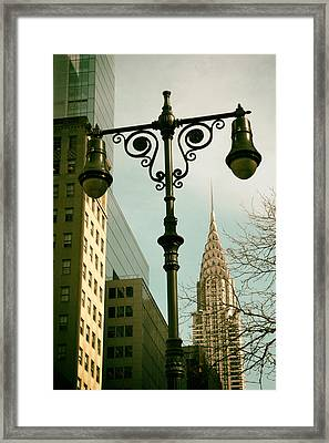 A Slice Of New York Framed Print by Jessica Jenney