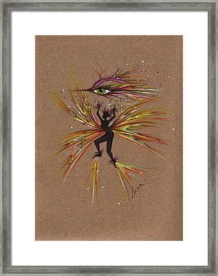 A Snit.... Framed Print by Dawn Fairies