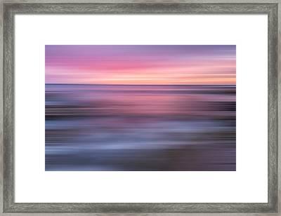 A Splash Of Orange X Framed Print by Jon Glaser