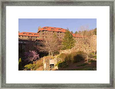 A Spring Evening At The Grove Park Inn Framed Print by MM Anderson