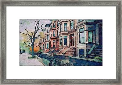 A Street In New York Framed Print by Yury Malkov