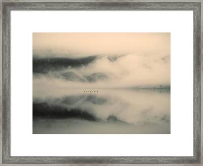A Study Of Clouds Framed Print by Tara Turner