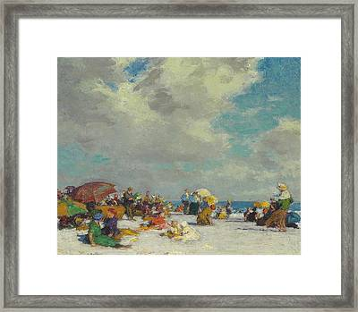 A Summer Afternoon Framed Print by Edward Henry