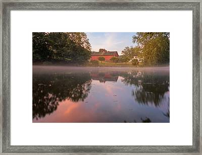 A Summer Morning Framed Print by Bill Wakeley