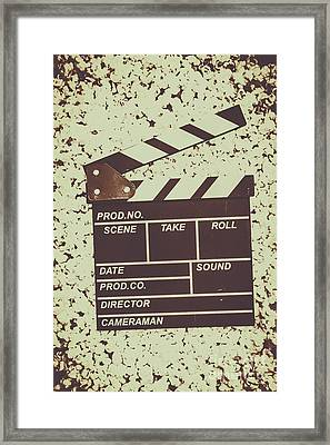 A Take From Old Hollywood Framed Print by Jorgo Photography - Wall Art Gallery