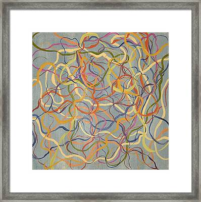 A Tangled Web Framed Print by Ani Magai