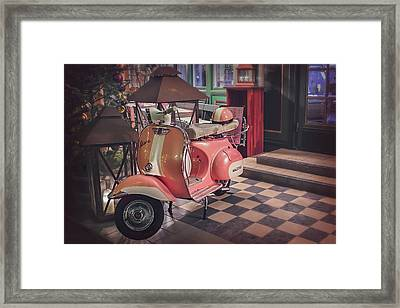 A Taste Of Italy Framed Print by Carol Japp