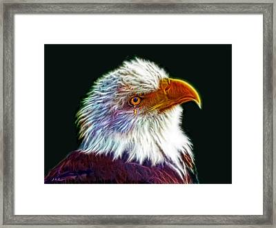 A Tear For America Framed Print by Michael Durst