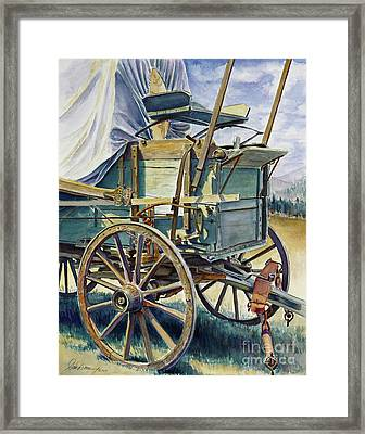 A Testament To Time Framed Print by Don Dane