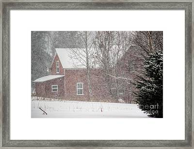 A Thousand Snowstorms Framed Print by William Tasker