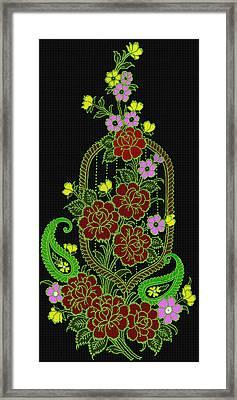 A Tisket A Tasket Framed Print by Evelyn Patrick