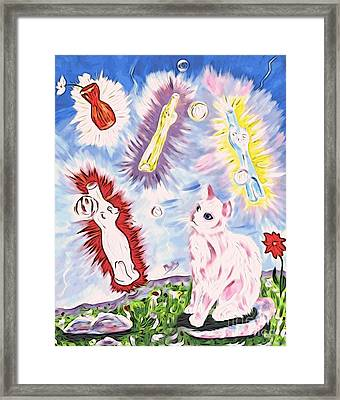 A Totally Unexpected Day Framed Print by Phyllis Kaltenbach