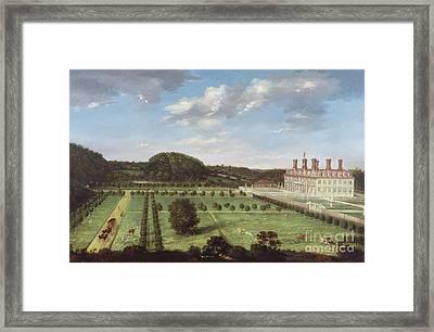 A View Of Bayhall - Pembury Framed Print by Jan Siberechts
