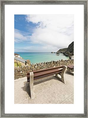 A View Of The Sea Framed Print by Terri Waters