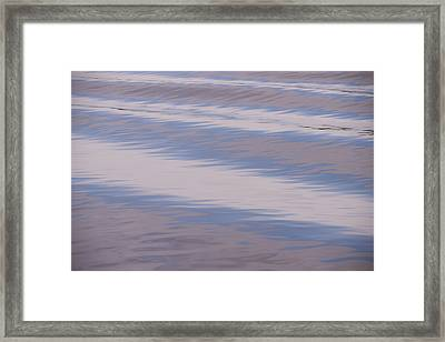A Wake In The Morning Framed Print by Loree Johnson