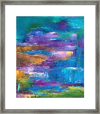A Walk To Remember Framed Print by Johnathan Harris