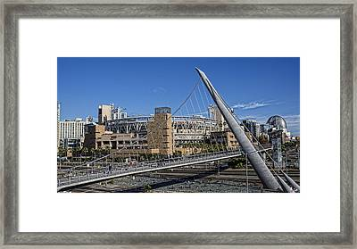 A Walk To The Park Framed Print by Stephen Stookey