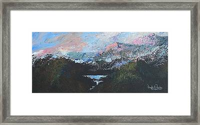A Wilderness View Framed Print by Douglas Trowbridge