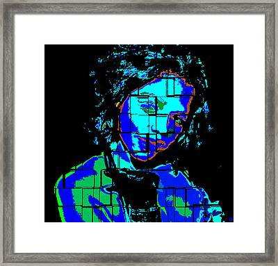A Woman Of Color Framed Print by David Lee Thompson