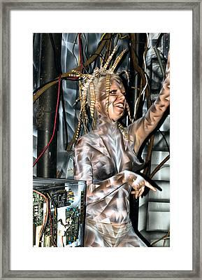 A Work N Play Framed Print by Leigh Odom
