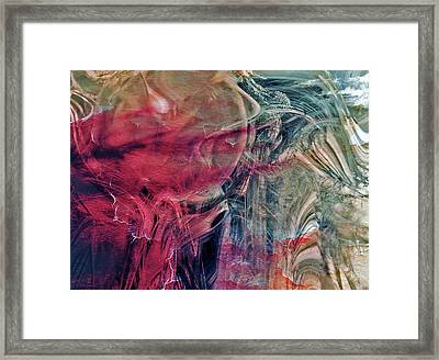A World Beyond Framed Print by Linda Sannuti
