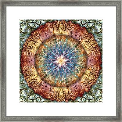A Wrinkle In Time Framed Print by Becky Titus