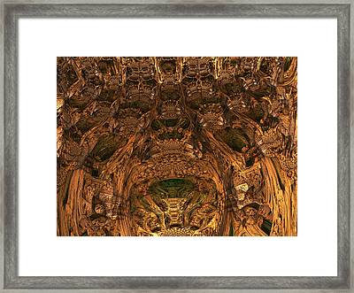 Abandon All Hope Ye Who Enter Here Framed Print by Lyle Hatch