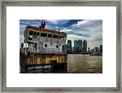 Abandon Ship Framed Print by Martin Newman