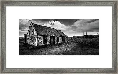 Abandoned Bothy Framed Print by Dave Bowman