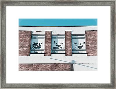 Abandoned Building Framed Print by Tom Gowanlock