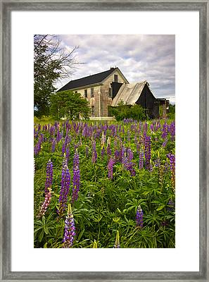 Abandoned House Framed Print by Benjamin Williamson