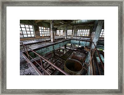 Abandoned Industrial Alcohol Distillery - Deserted Industry Framed Print by Dirk Ercken