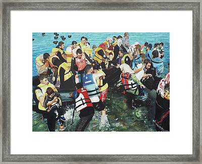 Abandoned Souls Framed Print by Eric Kempson