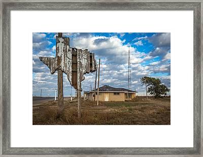 Abandoned Texas #1 Framed Print by Jon Manjeot