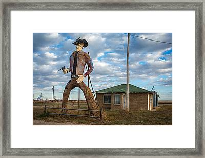Abandoned Texas #2 Framed Print by Jon Manjeot