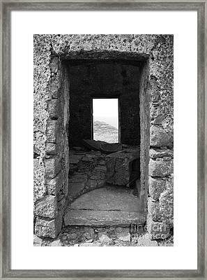 Abandoned Windmill Framed Print by Gaspar Avila